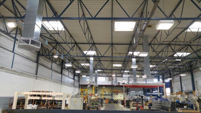 nave industrial instalada